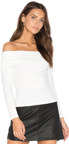 David Lerner Surrey Crop Top in White. - size L (also in M,S,XS)
