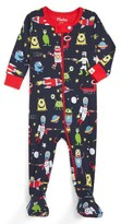 Hatley Infant Boy's Space Aliens Fitted One-Piece Pajamas