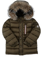 Moncler Lillian Down-Quilted Coat-GREEN