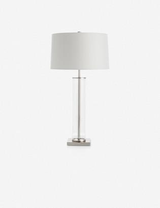Lulu & Georgia Arteriors Norman Table Lamp, Polished Nickel