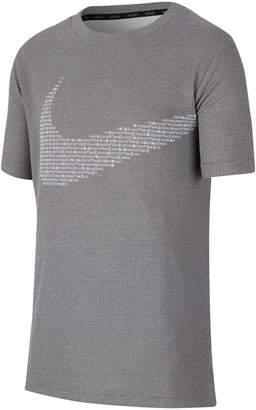 Nike Boy's Perforated Dri-Fit Tee