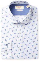 Original Penguin Butterfly Print Trim Fit Shirt