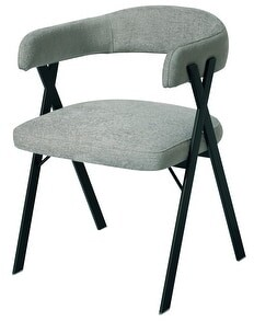 """Safavieh Couture Izzy Chenille Dining Chair - 21.5"""" W x 22"""" L x 29.9"""" H"""