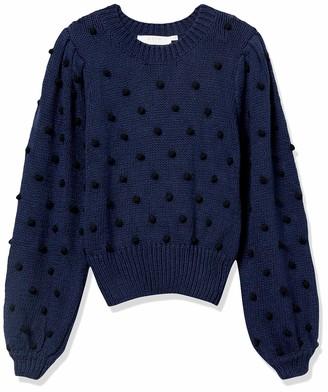ASTR the Label Women's Aidy Pom Knit Sweater
