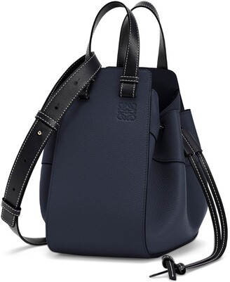 Loewe Small Leather Hammock Drawstring Bag