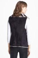 Sam Edelman Dip Dye Faux Shearling Vest