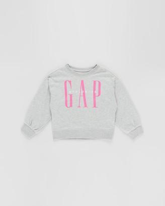 Gapkids Logo Dolman Crew Sweater - Teens