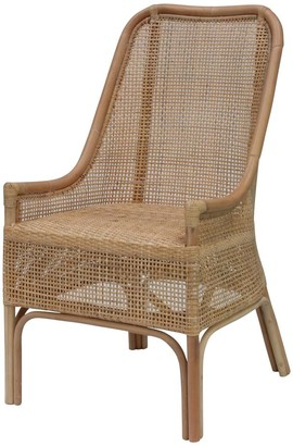 Ctr Imports Albury Chair White Wash Finish
