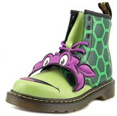 Dr. Martens Air Wair Dr.Martens Kids Donnie 1460 8 Eyelet Zip Green Leather Boots 1 US