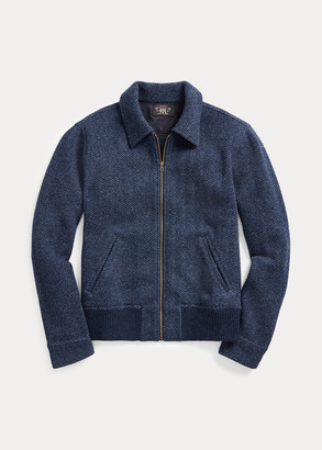 Ralph Lauren Wool-Cashmere Sweater Jacket