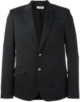 Saint Laurent engraved button blazer - men - Silk/Cotton/Virgin Wool - 48