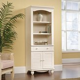Sauder Harbor View Library with Doors, Finish