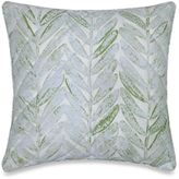 Barbara Barry Sea Leaves Square Throw Pillow