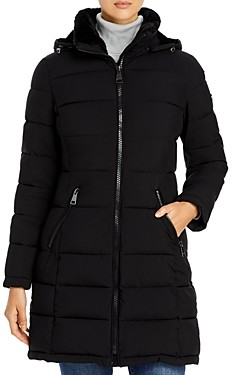 Calvin Klein Hooded Faux Fur Lined Puffer Coat