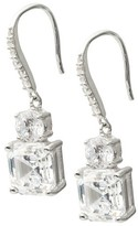Journee Collection 2 5/8 CT. T.W. Round Cut Cubic Zirconia Basket Set Earrings in Sterling Silver - Clear