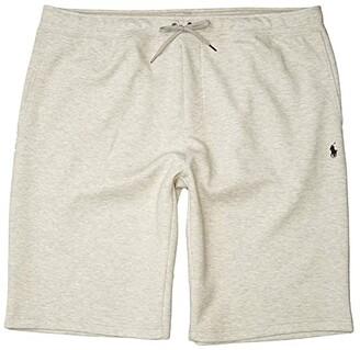 Polo Ralph Lauren Big & Tall Big Tall Double Knit Tech Shorts (Light Sport Heather) Men's Shorts