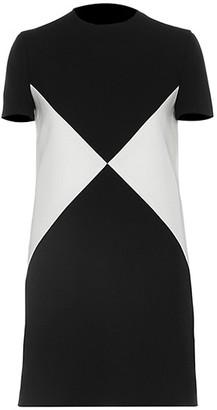 Valentino Stretch-Wool Shift Dress