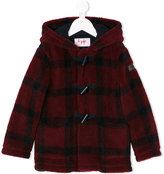 Il Gufo checked duffle coat