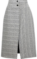 Carven Fantaisie Textured-Jacquard Midi Skirt