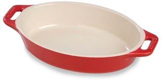 "Staub 14.5"" Oval Ceramic Baking Dish"