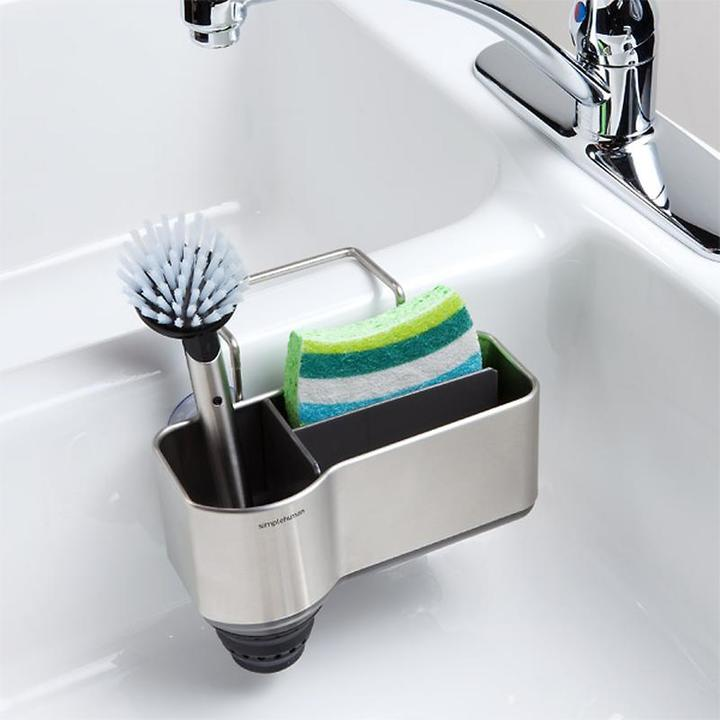Container Store Sink Caddy Stainless