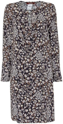 Max Mara Favella Floral Printed Shift Dress