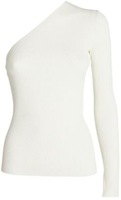 Sportmax Papaile One-Shoulder Top