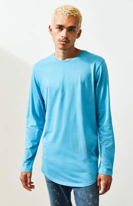 Proenza Schouler Basics Basics Gonzalo Long Sleeve Scallop T-Shirt