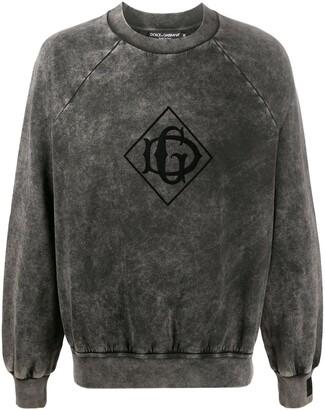 Dolce & Gabbana Logo Print Sweatshirt
