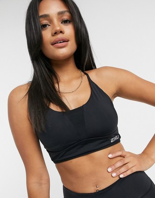 2XU Active Low Impact crop top in black