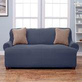 Home Fashion Designs Lucia Corduroy Form Fit Sofa Slipcover