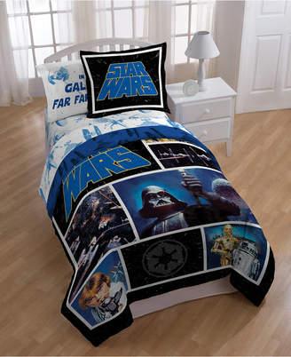 Star Wars Classic Reversible Twin/Full Comforter Set Bedding
