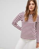 Esprit Stripe Long Sleeve Top