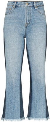 P.E Nation 1995 Two-Tone Jeans