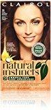 Clairol Natural Instincts Hair Color 30 Rosewood Dark Auburn Brown 1 Kit (Pack of 3)