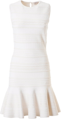 Alexander McQueen Sleeveless Short Dress