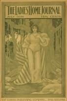 Lantern Press Ladies Home Journal Vintage Poster (artist: Parrish) USA c. 1896 (9x12 Art Print, Wall Decor Travel Poster)