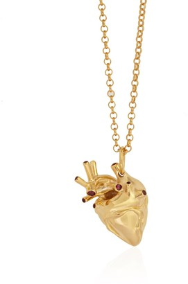 Rubie's Costume Co Strange Fruit Heart Pendant Gold With