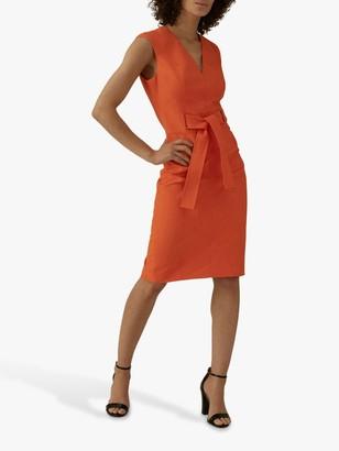 Karen Millen Tie Waist Pencil Dress