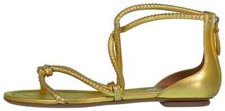 Alaia Interlaced Sandal