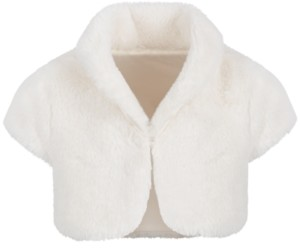 First Impressions Baby Girls Faux-Fur Shrug, Created for Macy's