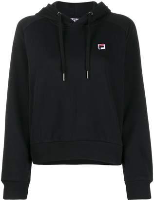 Fila embroidered logo hoodie