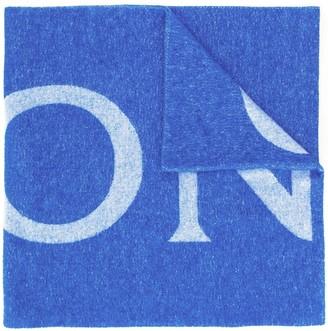 Moncler Logo Knit Scarf