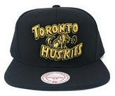 Mitchell & Ness Men's Toronto Huskies Gold Full Logo Snapback Cap O/S /Gold