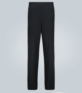 Our Legacy Reduced relaxed-fit ribbed pants