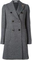 Lardini peaked lapel coat