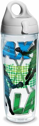 Tervis Lacrosse Logo Water Bath Wrap Water Bottle with Grey Water Bath Lid 24 oz