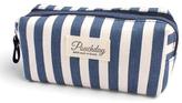 Riah Fashion Striped Cosmetic Pouch