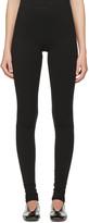 Rick Owens Lilies Black Jersey Leggings