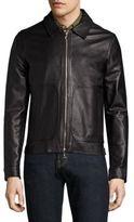Officine Generale Clement Leather Jacket